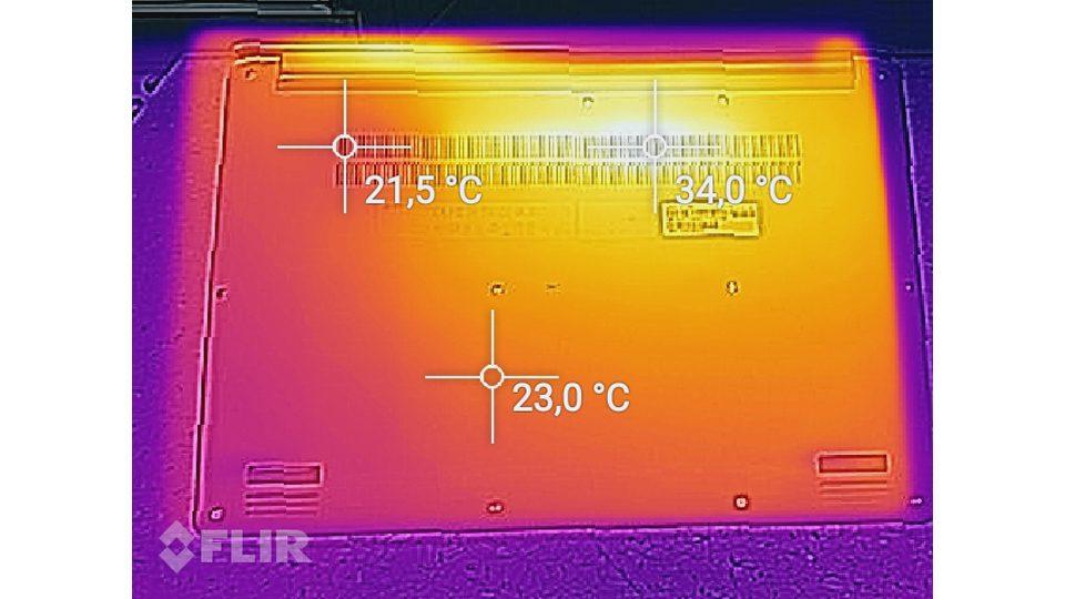 Acer Swift 3 Ultra Thin 15,6 Hitze_2
