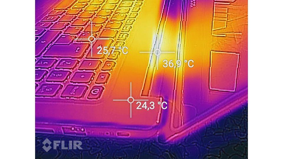Acer Swift 3 Ultra Thin 15,6 Hitze_3