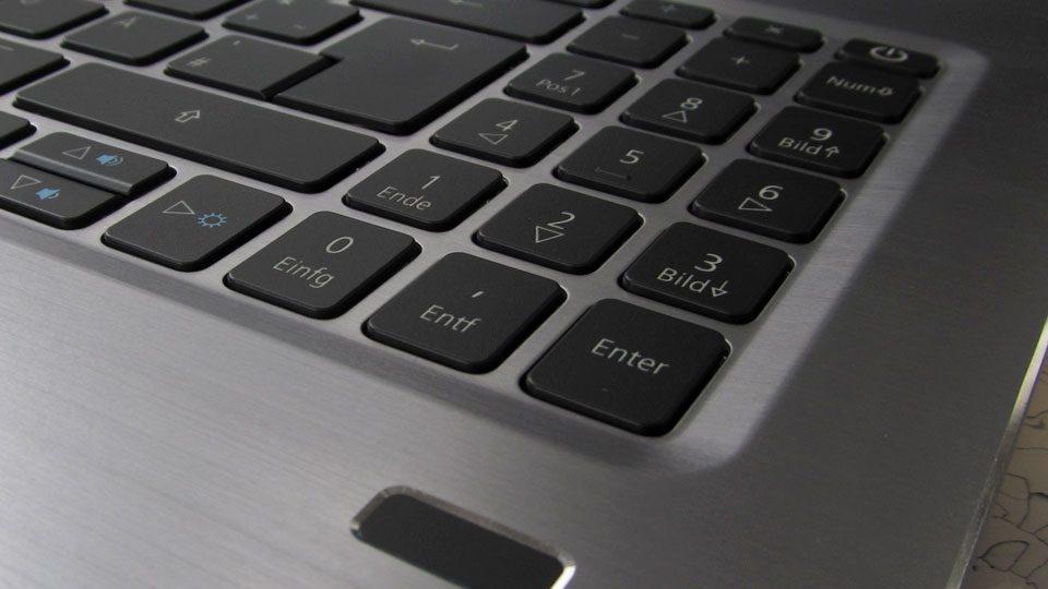 Acer Swift 3 Ultra Thin 15,6 Tastatur_4