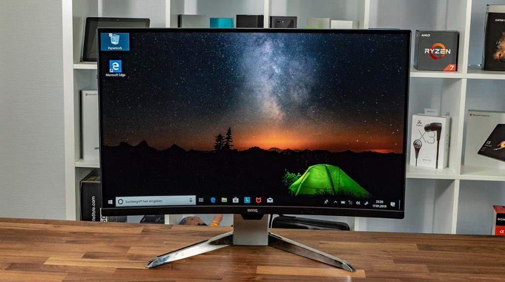 BenQ EX3203R Test: der XXL-Curved Monitor