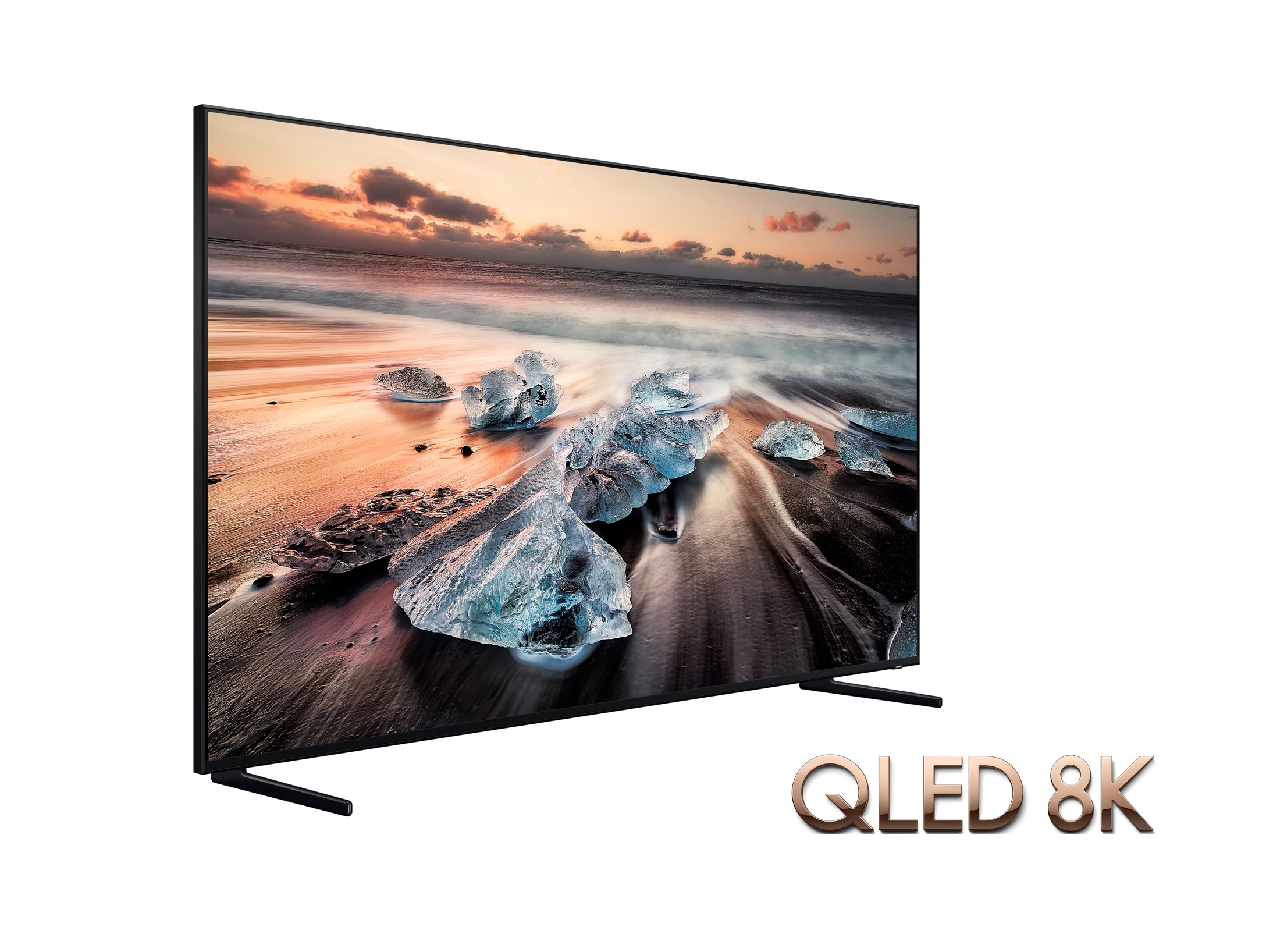 ces 2019 video samsung qled 8k tv mit 82 zoll im hands on. Black Bedroom Furniture Sets. Home Design Ideas