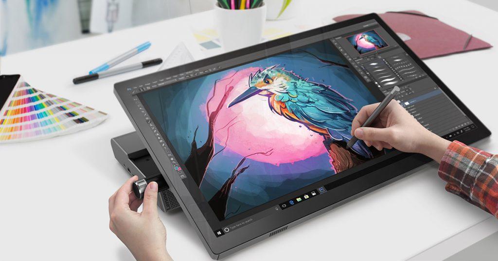 [CES 2019] Angriff auf das Microsoft Surface Studio: Lenovo Yoga A940 im Hands On