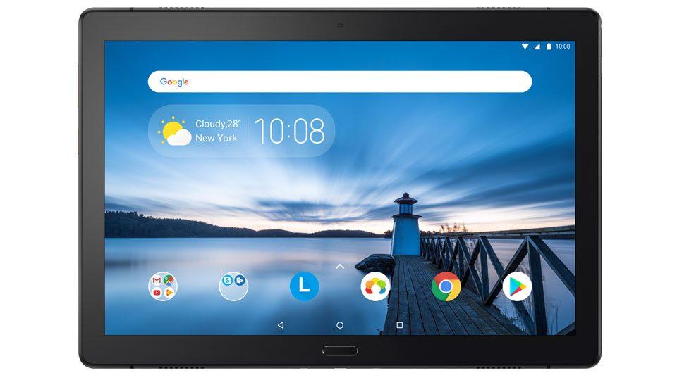 lenovo tab p10 android tablet mit hellem 10 1 zoll. Black Bedroom Furniture Sets. Home Design Ideas