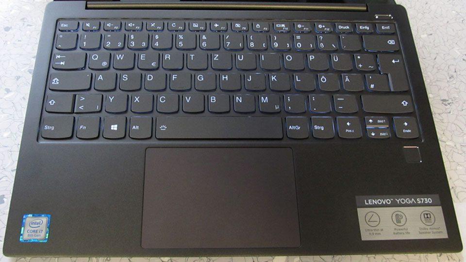 Lenovo YOGA S730-13IWL Tastatur_1
