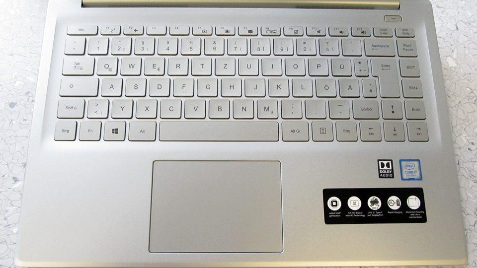 Medion AKOYA S6445 Tastatur_1