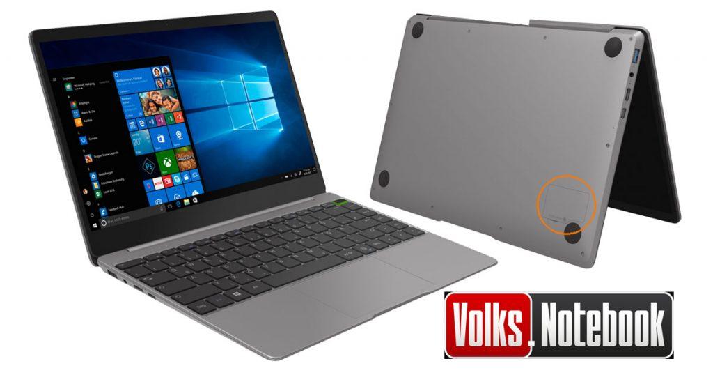 Trekstor Primebook U13B-PO – Volks-Notebook mit 13,3 Zoll Touchdisplay im Alu-Gehäuse