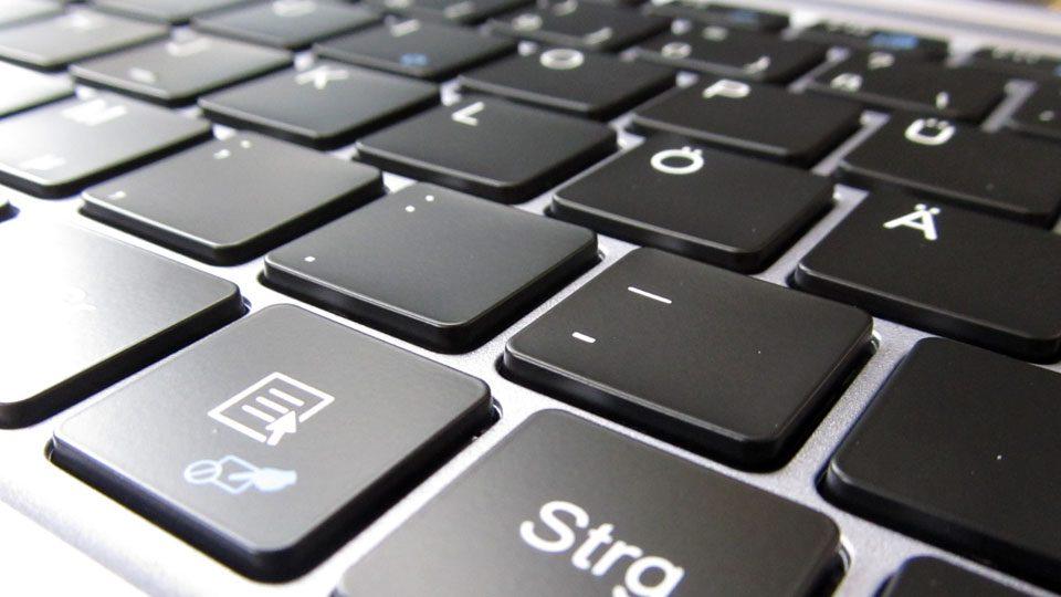 TREKSTOR PRIMEBOOK U13B-PO Tastatur_9