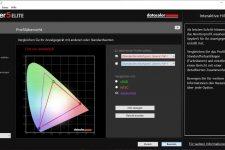 Asus ROG GL704GW-EV005T AdobeRGB-Farbraum