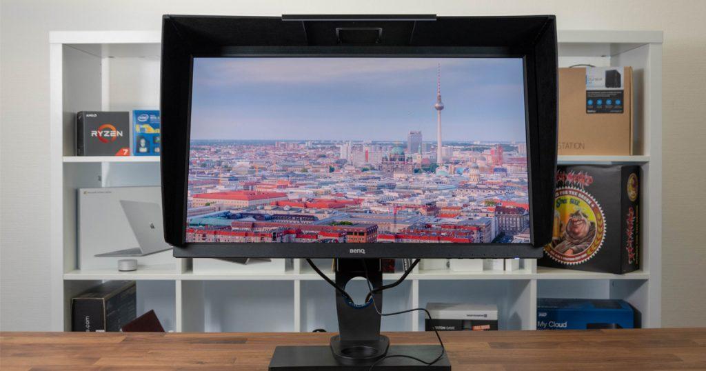BenQ SW2700PT: Günstiger Monitor für Grafiker und Fotografen