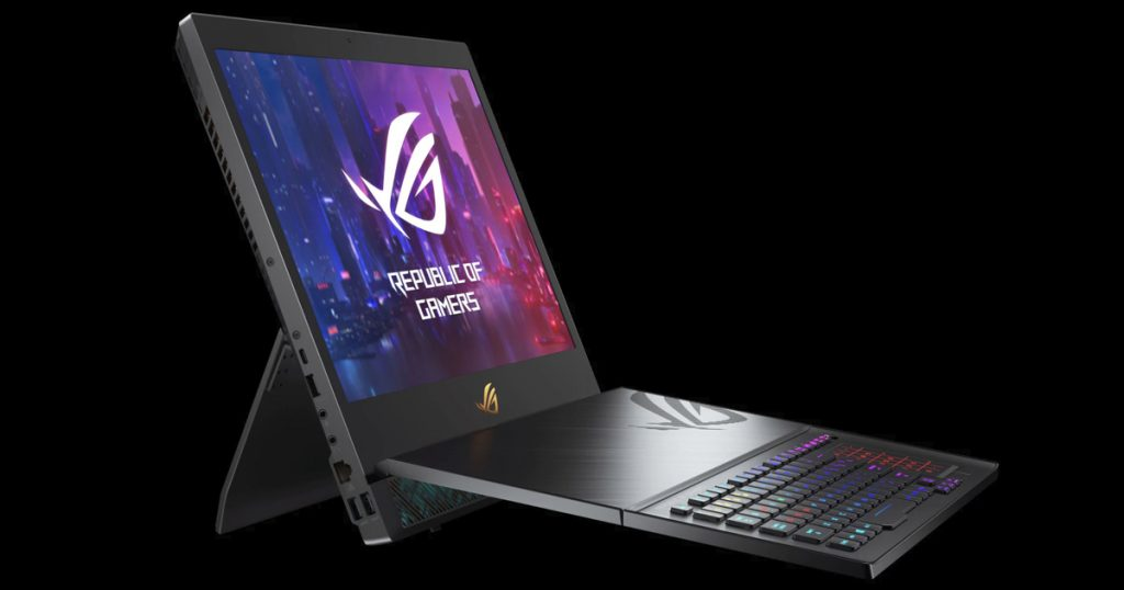 [CES 2019] ASUS ROG Mothership: Dieses 2in1-Gaming-Notebook soll euren Gaming-PC ersetzen