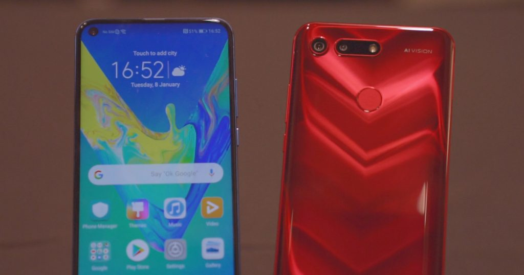 [CES 2019] Honor View 20 mit 48 MP-Kamera im Hands-On