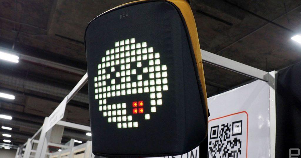 [CES 2019] Pix Backback – der Rucksack mit dem Pixel-Display