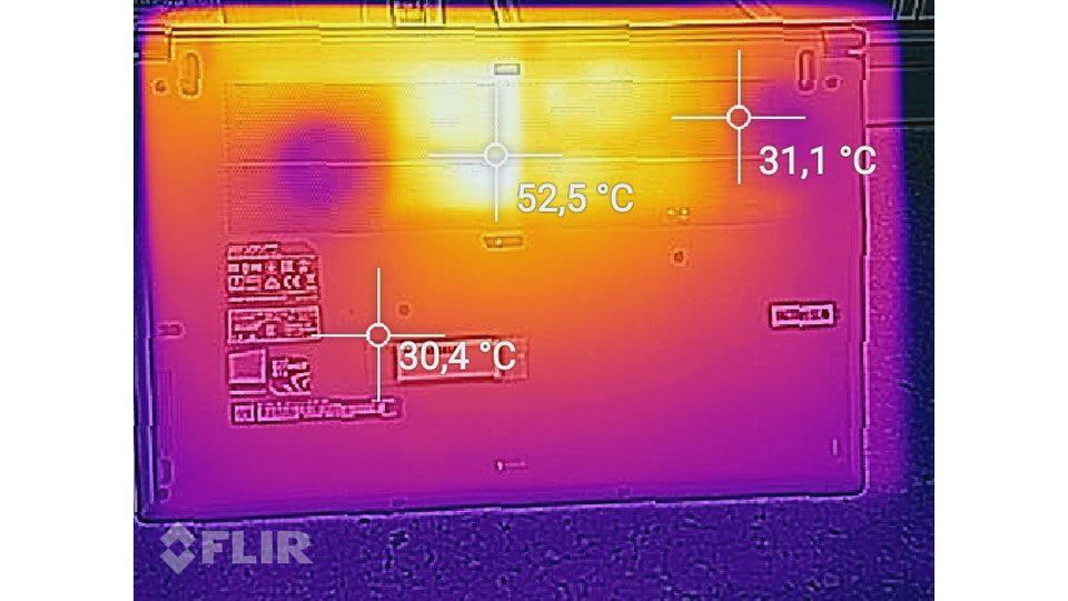 MSI PS63 Modern 8RC Hitze_2