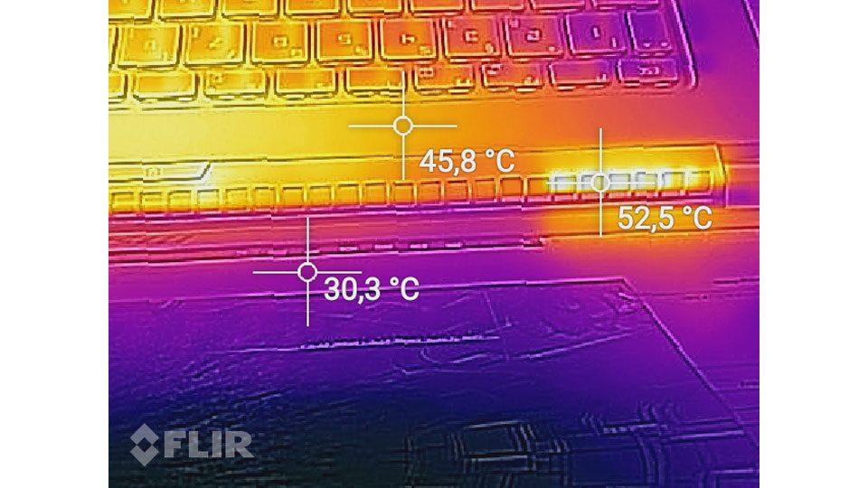 MSI PS63 Modern 8RC Hitze_4