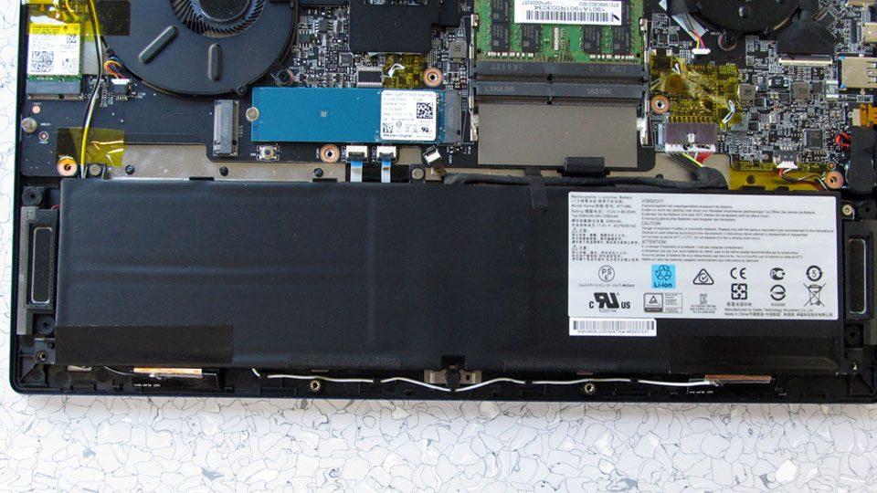 MSI PS63 Modern 8RC Innen_8