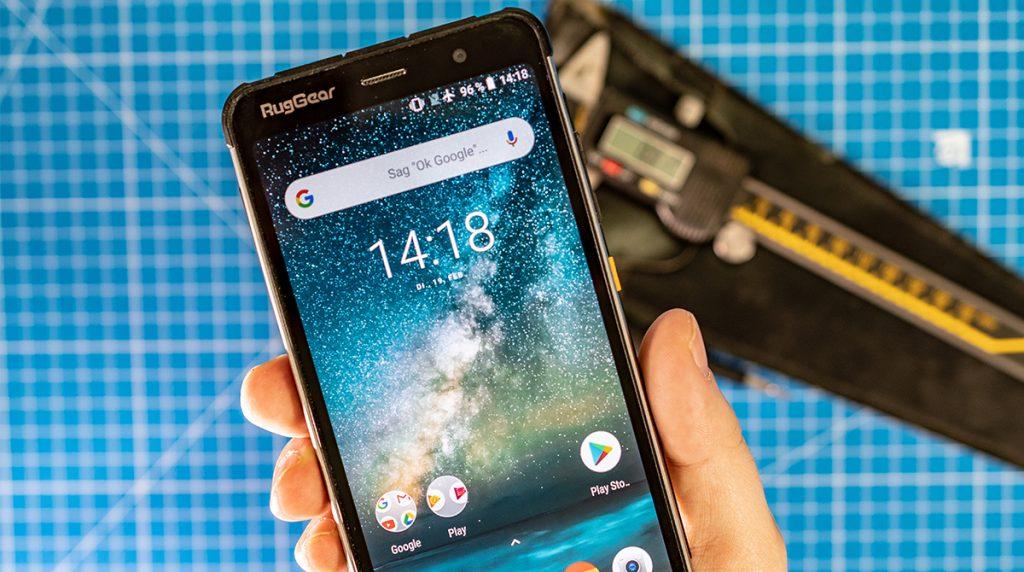 RugGear RG850 Smartphone: Nicht nur für die Baustelle
