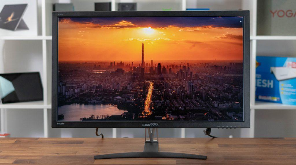 Hannspree HQ272PQD: günstiger Monitor mit tollen Farben und hoher Farbraumabdeckung