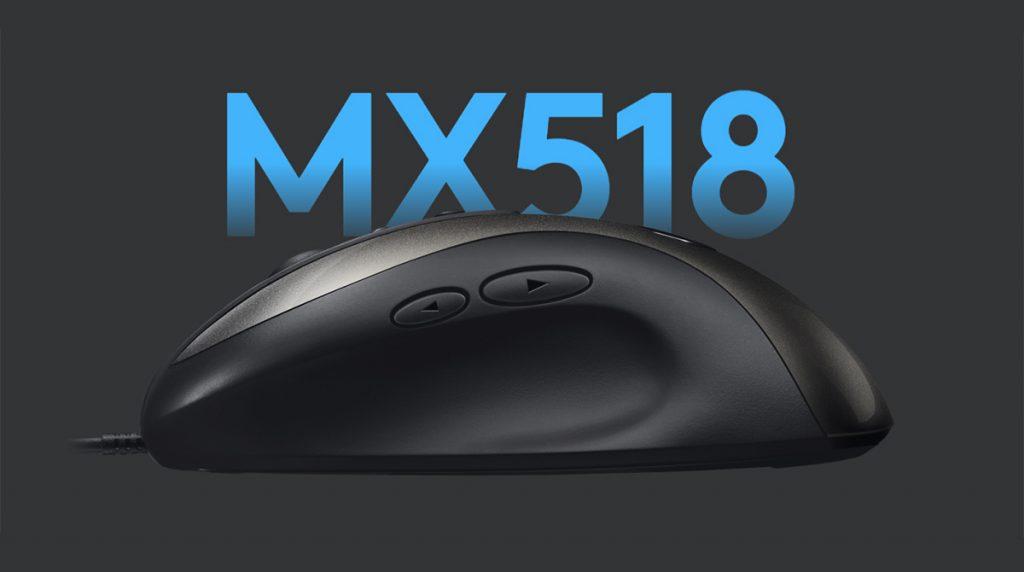 Logitech MX518 Legendary – Sie ist wieder da!