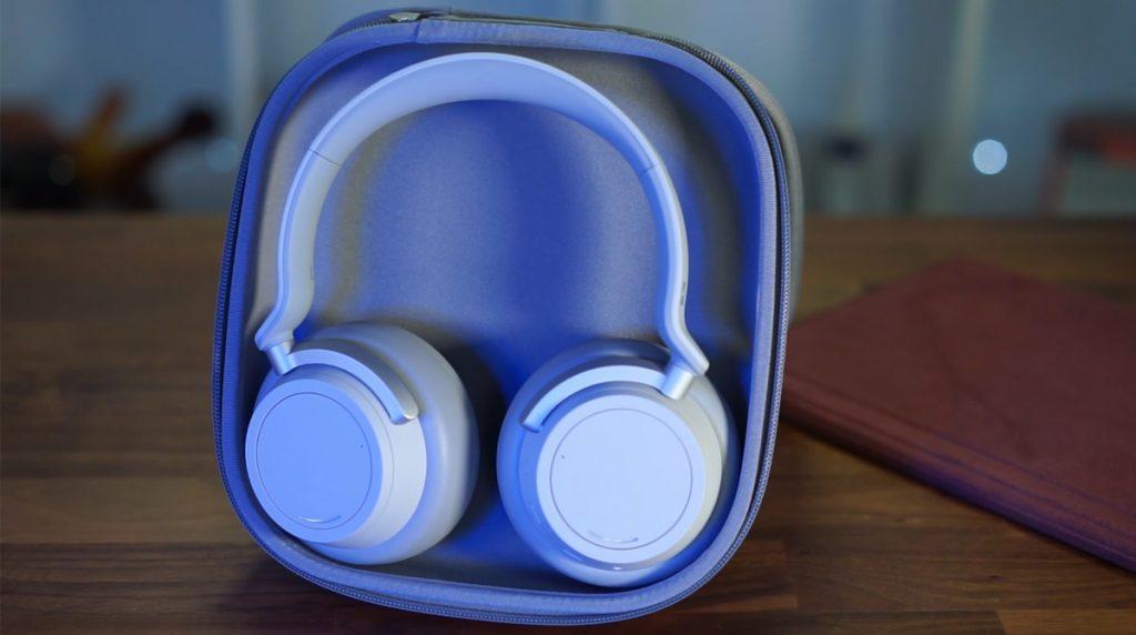 Bluetooth-Kopfhörer: Microsoft Surface Headphones mit ANC ausgepackt