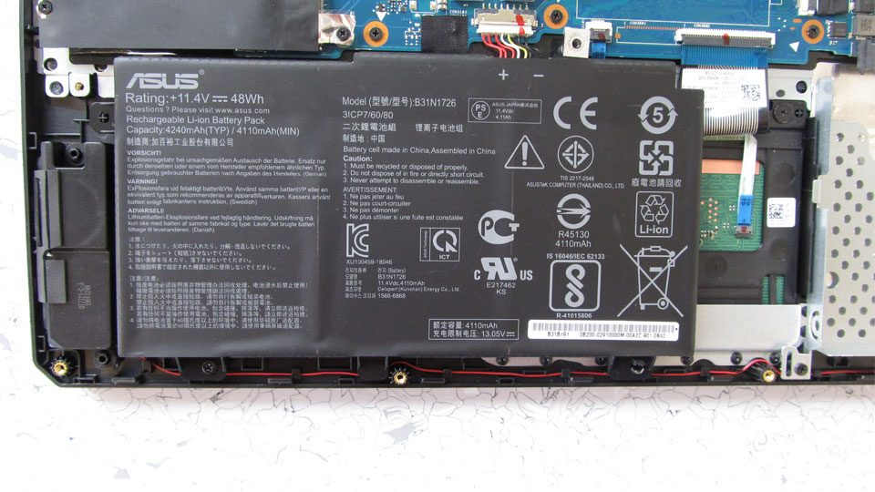 Asus TUF Gaming FX505DY Innen_5