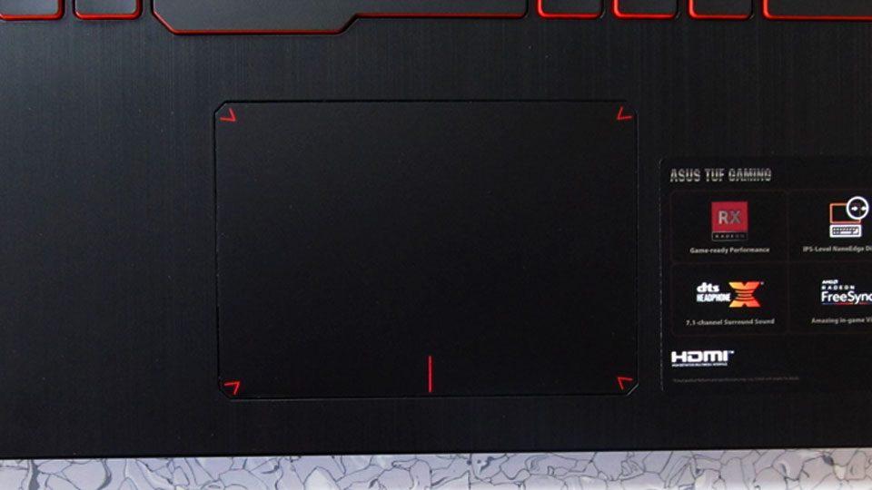 Asus TUF Gaming FX505DY tastatur_2