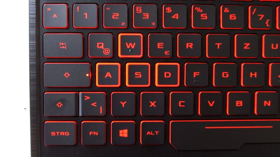 Asus TUF Gaming FX505DY tastatur_3