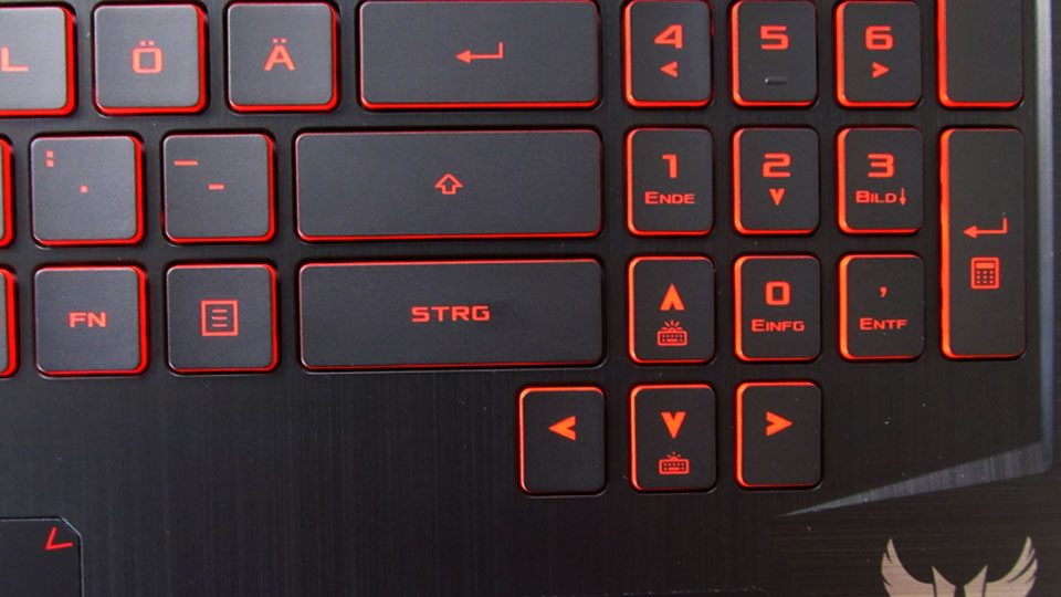 Asus TUF Gaming FX505DY tastatur_4