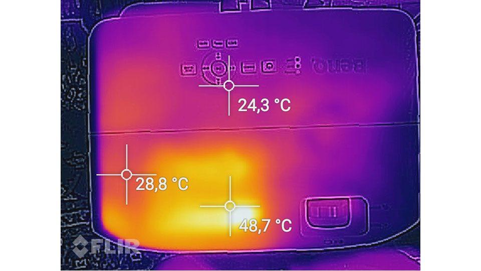 BenQ TH535 Hitze_1