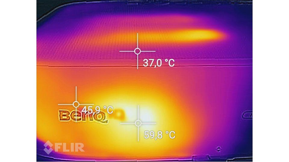 BenQ TH535 Hitze_3