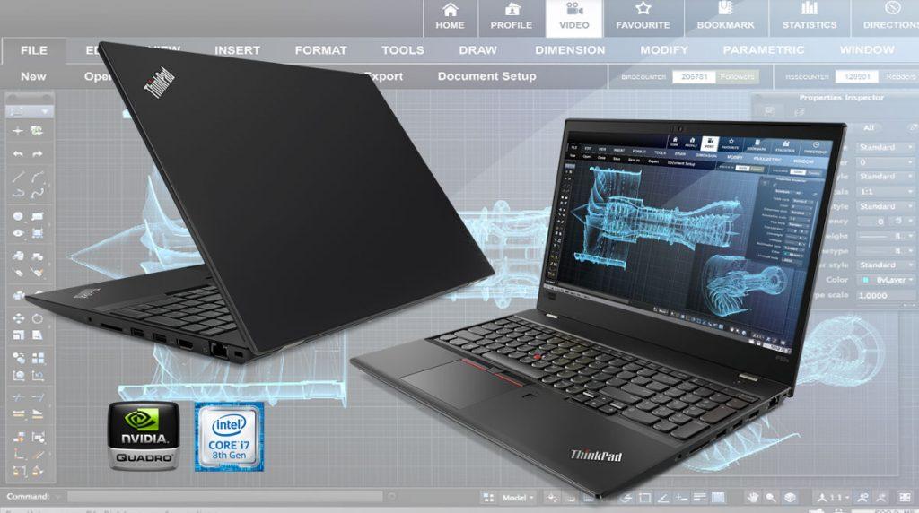 Lenovo ThinkPad P52s – Workstation Power im Ultrabook Format