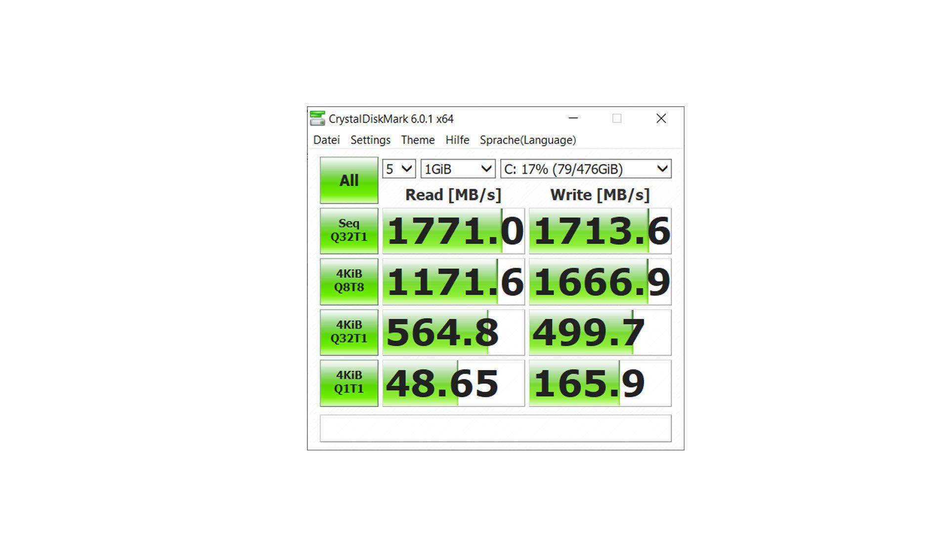 Lenovo ThinkPad P52s Benchmark_5