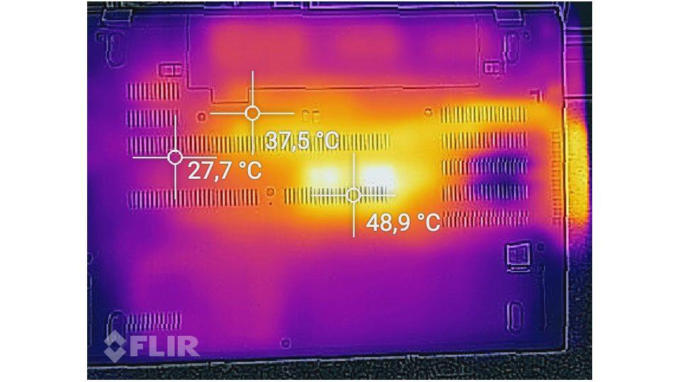 Lenovo ThinkPad P52s Hitze_2