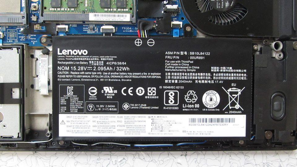 Lenovo ThinkPad P52s Innen_4