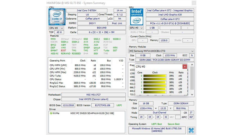 MSI GL73 8SE-014 Hardware_9