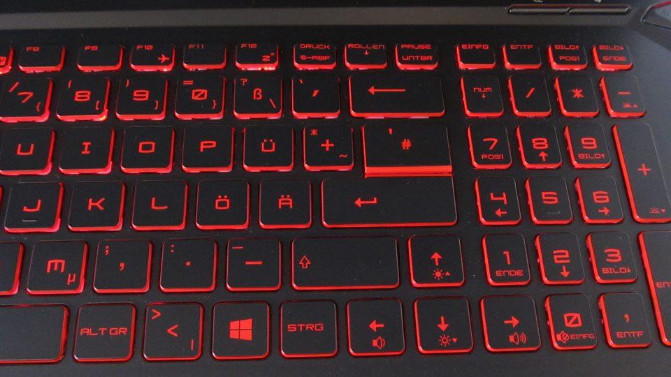 MSI GL73 8SE-014 Tastatur_7