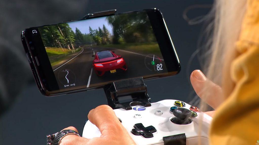 Mit Microsoft xCloud spielt ihr Forza Horizon 4 auf einem Smartphone