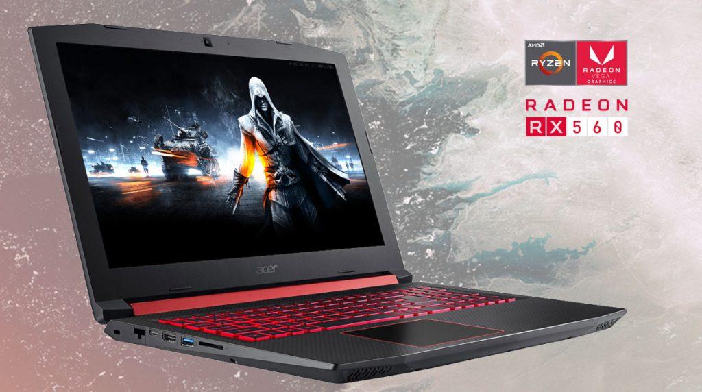 Acer Nitro 5 – Günstiges Einsteiger-Notebook mit AMD Ryzen 5 und Radeon RX 560X im Test