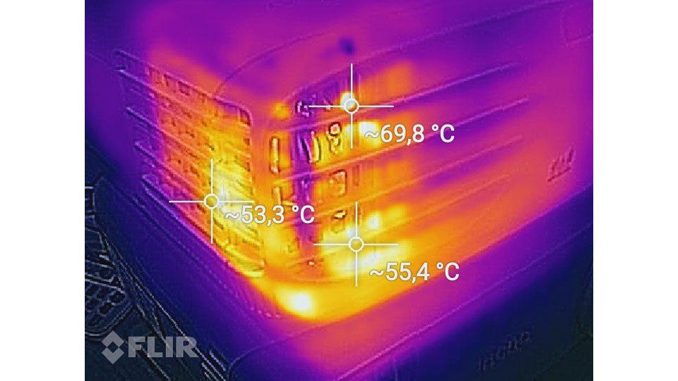 Viewsonic PX747 Hitze_3
