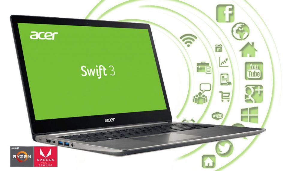 Acer Swift 3 Ultra Thin im Test – günstiges Multimedia-Notebook mit Full HD-Display und AMD Ryzen 5