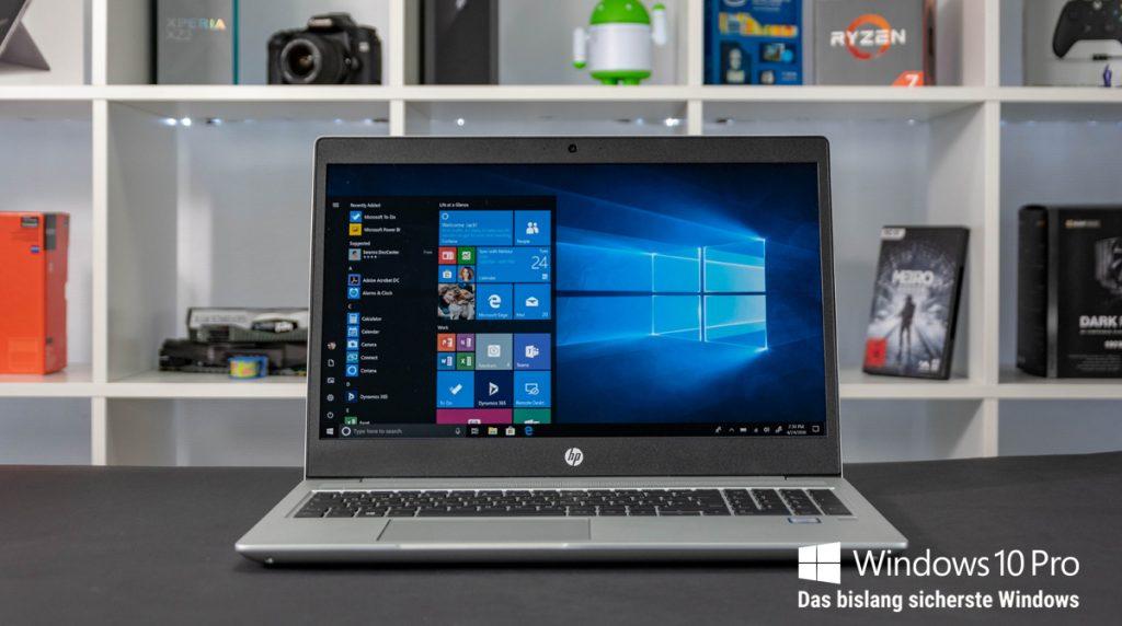 HP ProBook 450 G6 6HM70ES: Business-Notebook mit sehr schneller SSD
