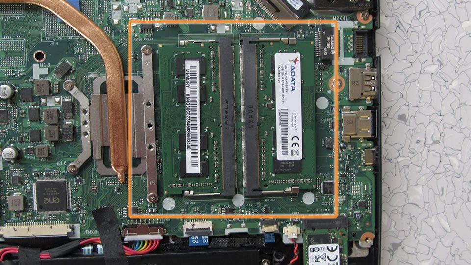 Arbeitsspeicher (2 x 4 GB)