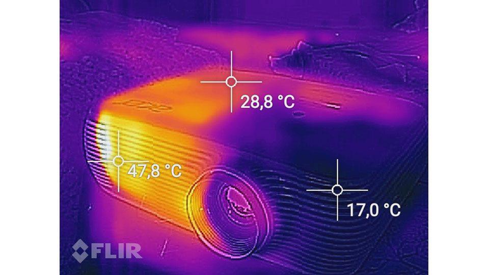 Acer H5382BD Hitze_5