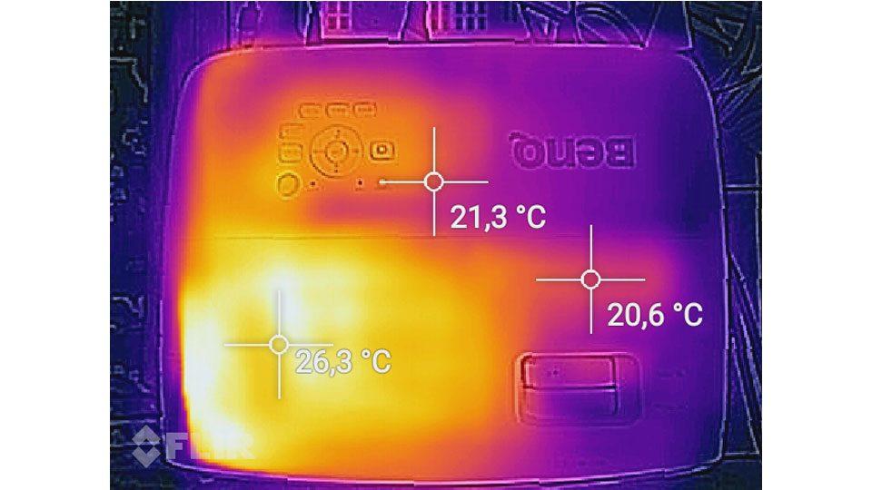 BenQ TK800M Hitze_1