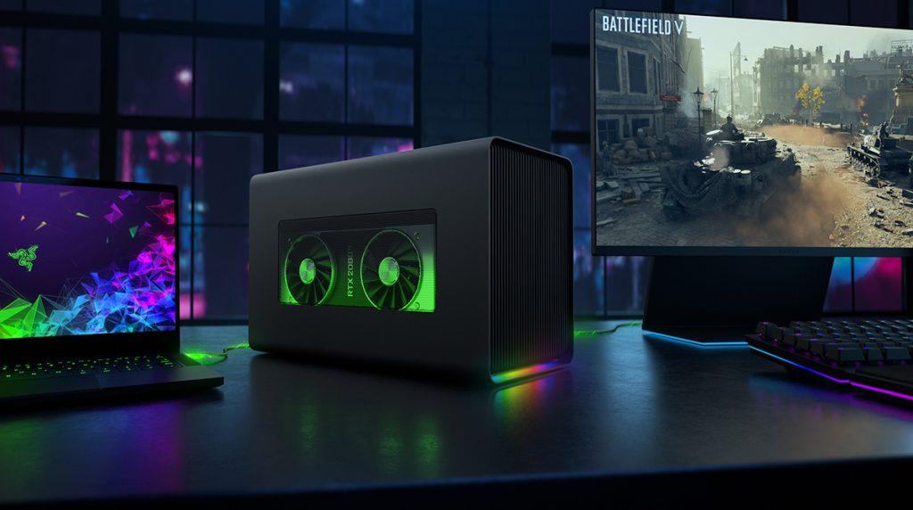 Razer Core X Chroma: eGPU-Case mit 700 Watt vorgestellt