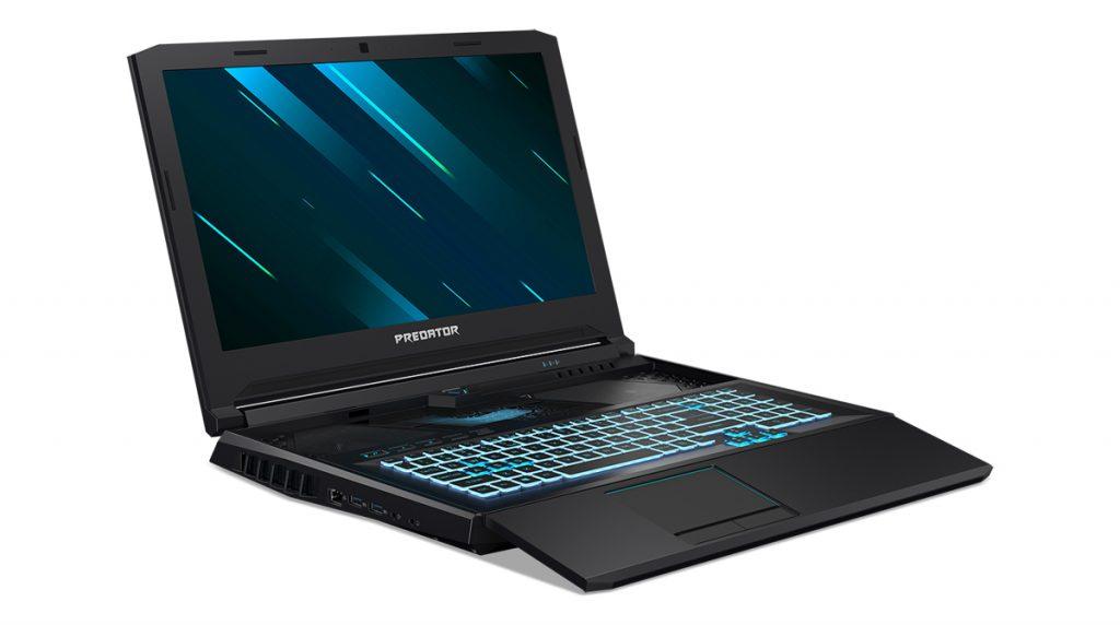 Predator Helios 700: Acer stellt Gaming-Notebook mit herausziehbarer Tastatur vor