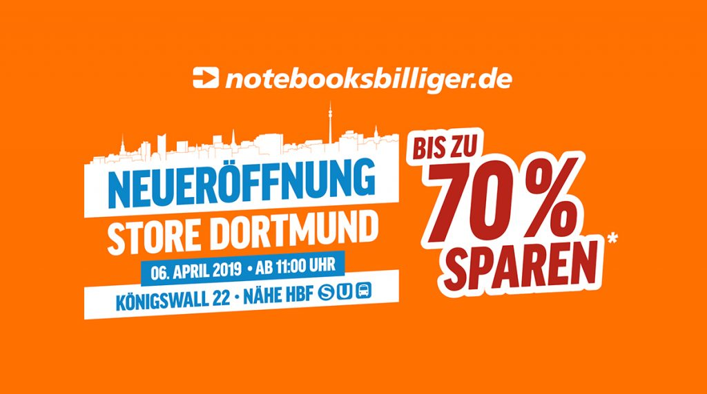 Dortmund, wir kommen! Am 6. April eröffnen wir unseren neuen Store