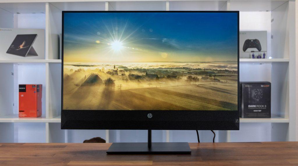 HP Pavilion 27: Full HD-Monitor mit gutem Sound