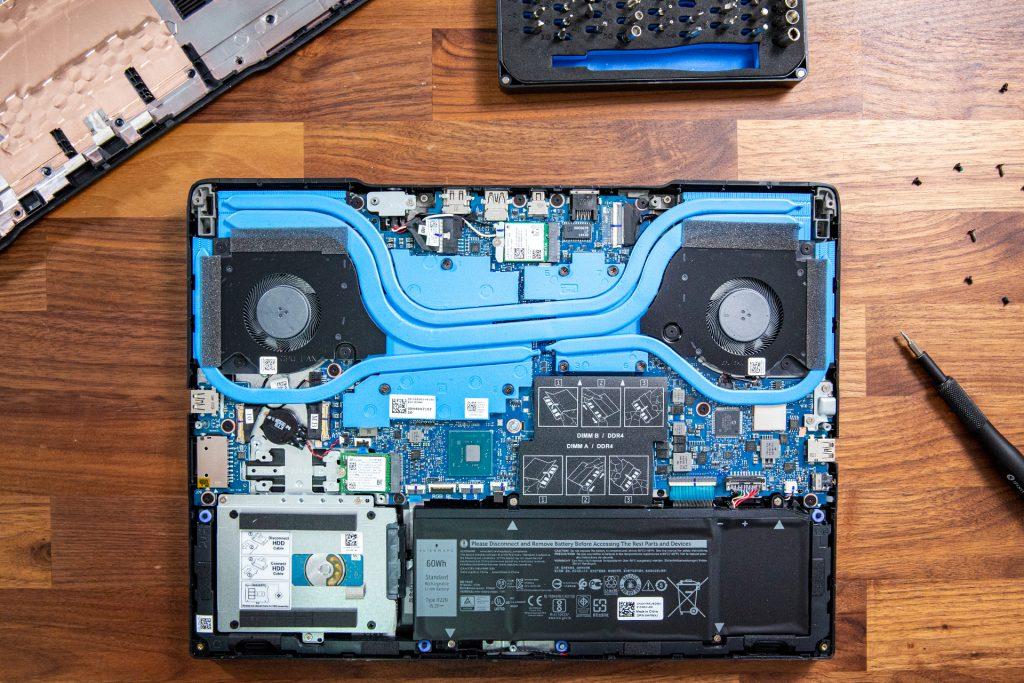 Dell G5 15 Lüftung