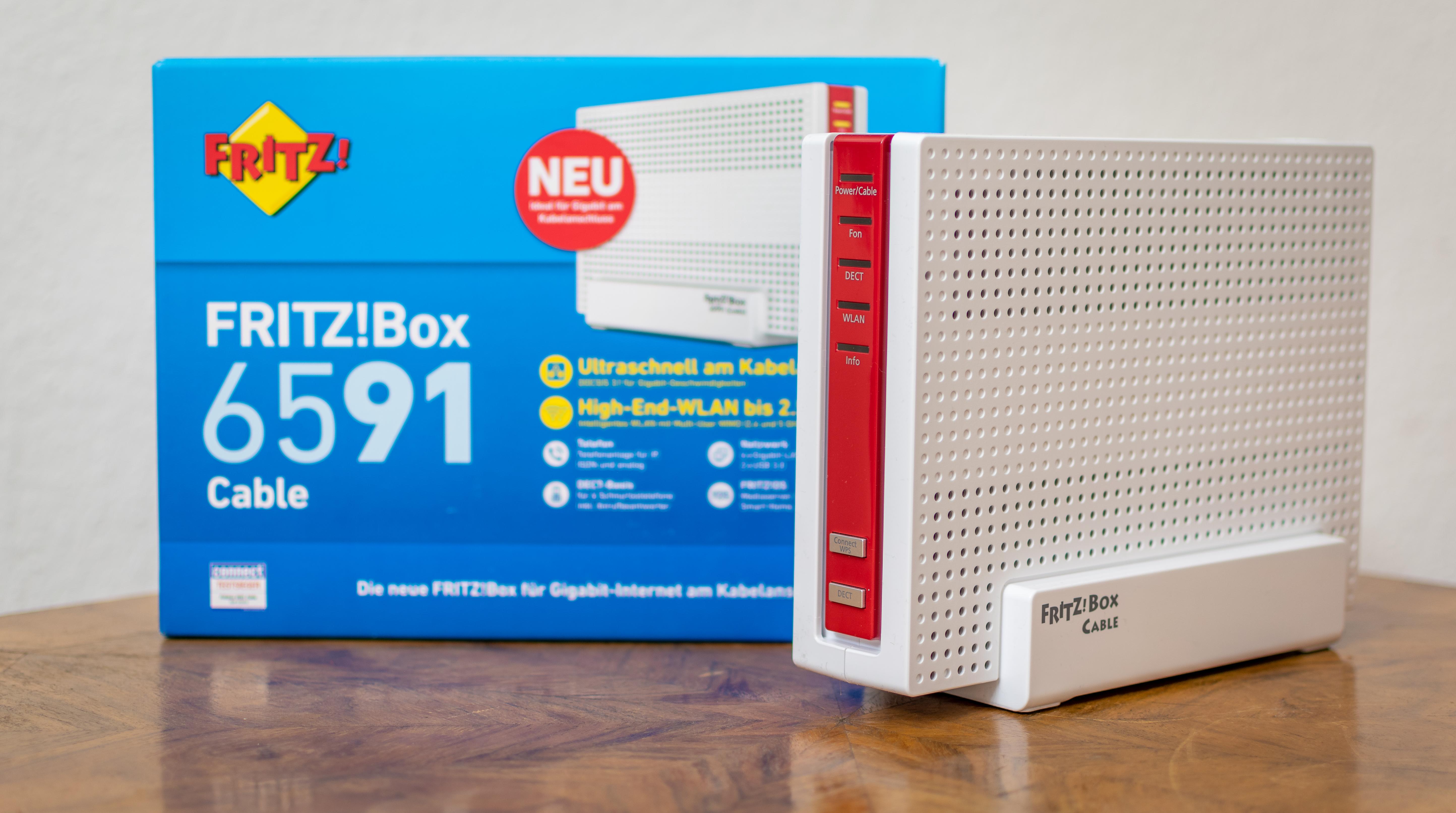 FRITZBox 20 Cable im Test   der bisher beste Kabel Router