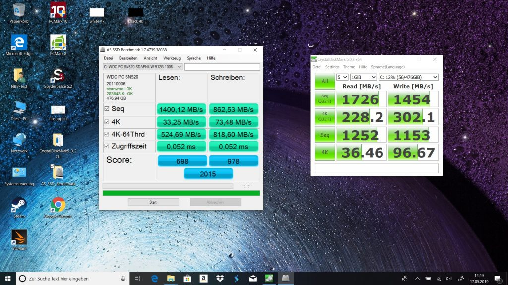HP Envy x360 13 Benchmark